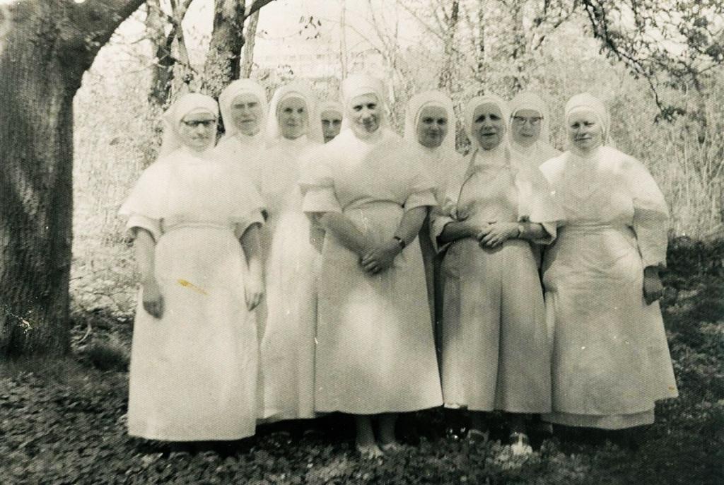 Řeholnice z Kongregace Šedých sester řádu sv. Františka